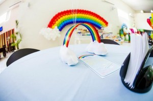 Rainbow Birthday Party via Kara's Party Ideas | Kara'sPartyIdeas.com #Rainbow #Party #Ideas #Birthday #Planning #Supplies (3)