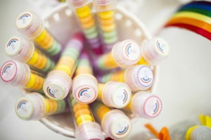 Rainbow Birthday Party via Kara's Party Ideas | Kara'sPartyIdeas.com #Rainbow #Party #Ideas #Birthday #Planning #Supplies (2)