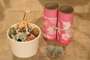 Upcycled Safari Party via Kara's Party Ideas | Kara'sPartyIdeas.com #Jungle #Party #Idea #Upcycled #Boy #Girl (10)