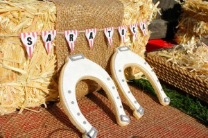 Saratoga Horse Racetrack Party via Kara's Party Ideas | Kara'sPartyIdeas.com #Racetrack #Party #Planning #idea #decorations (37)