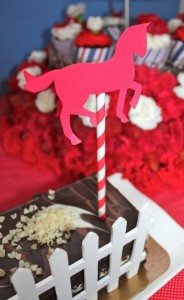 Saratoga Horse Racetrack Party via Kara's Party Ideas | Kara'sPartyIdeas.com #Racetrack #Party #Planning #idea #decorations (7)