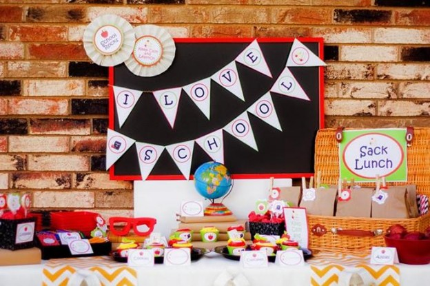 Back to School Book Exchange Party via Kara's Party Ideas | Kara'sPartyIdeas.com #BackToSchool #Teacher #Party #Ideas (22)