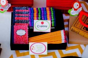 Back to School Book Exchange Party via Kara's Party Ideas | Kara'sPartyIdeas.com #BackToSchool #Teacher #Party #Ideas (7)