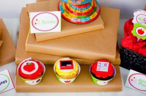 Back to School Book Exchange Party via Kara's Party Ideas | Kara'sPartyIdeas.com #BackToSchool #Teacher #Party #Ideas (19)