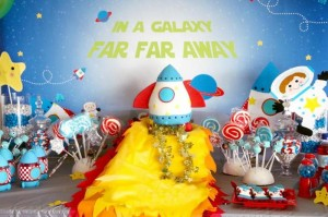 Space Cadet Party via Kara's Party Ideas | Kara'sPartyIdeas.com #Space #Rocket #party #ideas #boy (8)