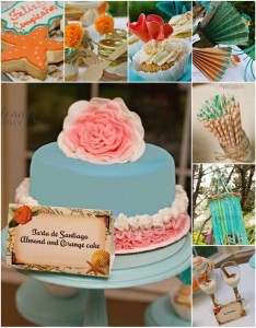 Spanish Beach Party with REALLY CUTE IDEAS via Kara's Party Ideas | Kara'sPartyIdeas.com #Beach #Spain #Party #Idea #Decorations #Supplies (1)