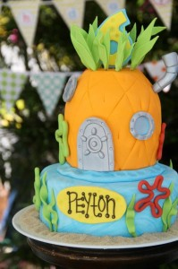 Sponge Bob Birthday Party via Kara's Party Ideas #decorations #idea (16)