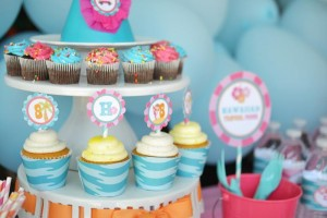 #surf #party #birthday #planning #girl #cake #decorations #ideas #idea (18)