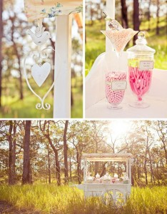 Vintage Wedding Candy Cart via Kara's Party Ideas #decorations #idea #chic ##bridal #shower (1)