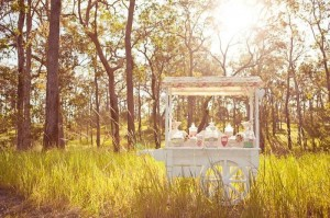 Vintage Wedding Candy Cart via Kara's Party Ideas #decorations #idea #chic ##bridal #shower (6)