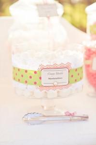 Vintage Wedding Candy Cart via Kara's Party Ideas #decorations #idea #chic ##bridal #shower (2)