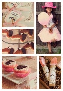 Vintage Pony Party with REALLY CUTE IDEAS via Kara's Party Ideas | Kara'sPartyIdeas.com #horse #party #planning #idea #decorations (2)