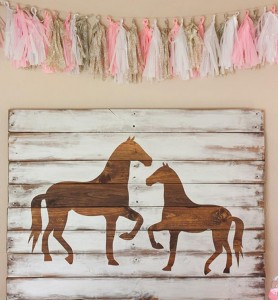Vintage Pony Party via Kara's Party Ideas | Kara'sPartyIdeas.com #horse #party #planning #idea #decorations (6)