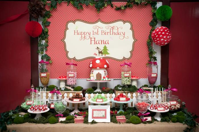 Kara S Party Ideas Woodland Birthday Party Planning Supplies Ideas