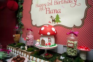 #woodland #birthday #party #decorations #Mushroom #cake #idea #planning (30)
