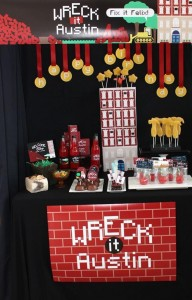 Wreck-It Ralph Party via Kara's Party Ideas | Kara'sPartyIdeas.com #WreckItRalph #Party Planning #Ideas (36)