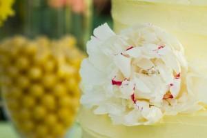 Yellow and Gray Wedding Dessert Table via Kara's Party Ideas | Kara'sPartyIdeas.com #Yellow #Gray #Wedding #Reception #Party #Planning #Idea (8)