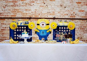 Despicable Me Minion Playdate Party via Kara's Party Ideas #minions #Playdate #DespicableMe #PartyIdea #PartyDecorations (38)