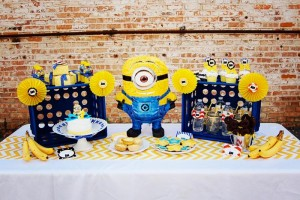 Despicable Me Minion Playdate Party via Kara's Party Ideas #minions #Playdate #DespicableMe #PartyIdea #PartyDecorations (18)