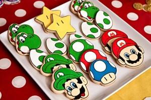 Mario Gamer Party via Kara's Party Ideas #Mario #VideoGames #PartyIdea #PartyDecorations (23)