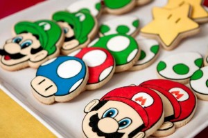 Mario Gamer Party via Kara's Party Ideas #Mario #VideoGames #PartyIdea #PartyDecorations (22)