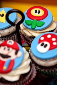Mario Gamer Party via Kara's Party Ideas #Mario #VideoGames #PartyIdea #PartyDecorations (15)