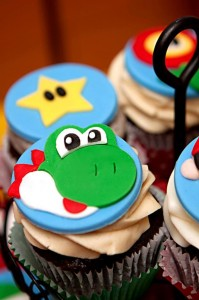Mario Gamer Party via Kara's Party Ideas #Mario #VideoGames #PartyIdea #PartyDecorations (14)