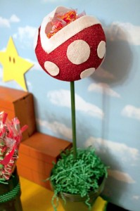 Mario Gamer Party via Kara's Party Ideas #Mario #VideoGames #PartyIdea #PartyDecorations (10)