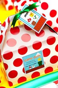 Mario Gamer Party via Kara's Party Ideas #Mario #VideoGames #PartyIdea #PartyDecorations (8)