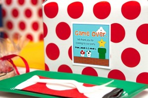 Mario Gamer Party via Kara's Party Ideas #Mario #VideoGames #PartyIdea #PartyDecorations (7)