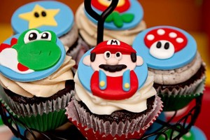Mario Gamer Party via Kara's Party Ideas #Mario #VideoGames #PartyIdea #PartyDecorations (6)