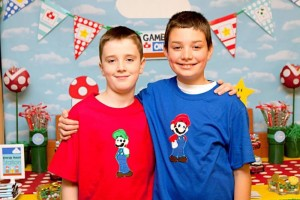 Mario Gamer Party via Kara's Party Ideas #Mario #VideoGames #PartyIdea #PartyDecorations (3)