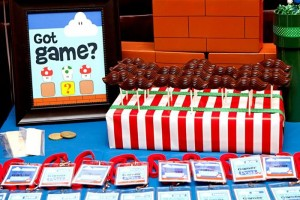Mario Gamer Party via Kara's Party Ideas #Mario #VideoGames #PartyIdea #PartyDecorations (1)