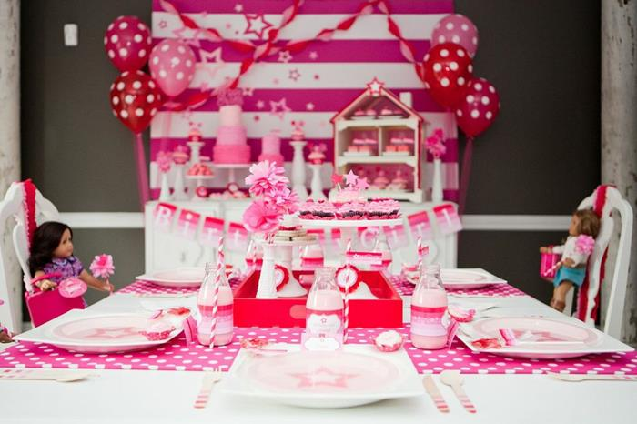Kara 39 s party ideas american girl doll birthday party via for American party decoration
