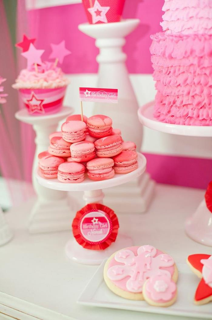 Kara's Party Ideas American Girl Doll Birthday Party via ...