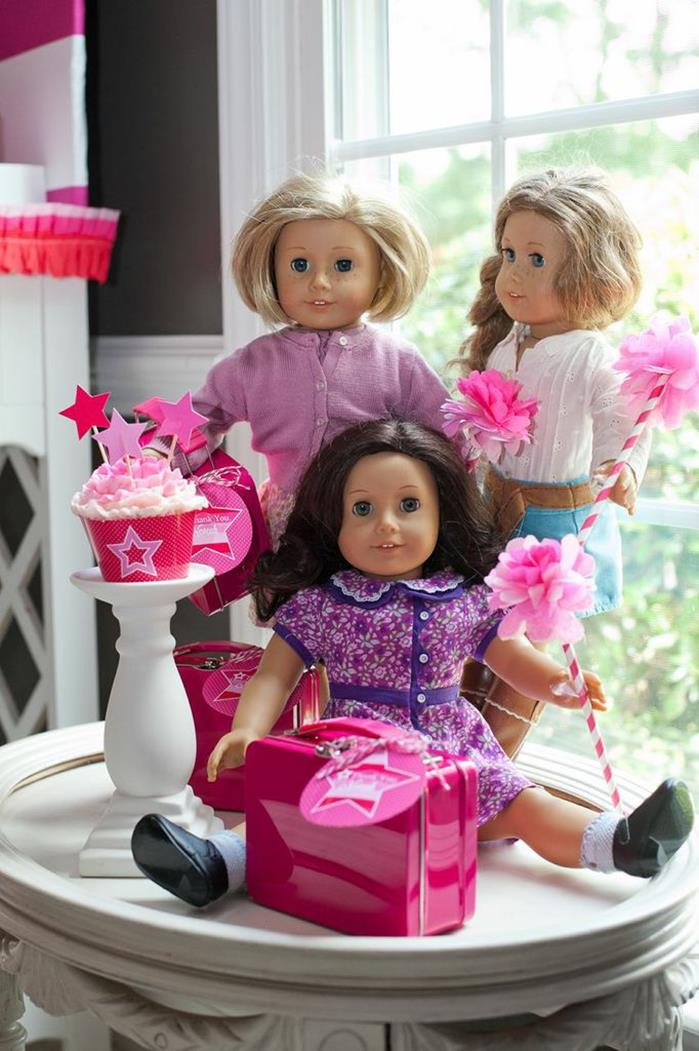 Kara S Party Ideas American Girl Doll Birthday Party Via Kara S Party Ideas Kara Spartyideas