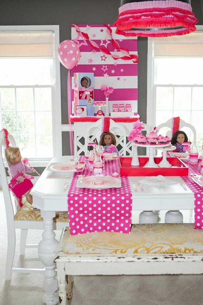 Kara's Party Ideas American Girl Doll Birthday Party via ...