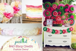 $375 Party of your Dreams Giveaway via Kara's Party Ideas #Giveaway #PartySupplies #ItsyBelle (1)