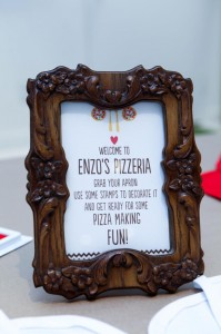 Pizza Themed Birthday Party with REALLY CUTE IDEAS via Kara's Party Ideas Kara'sPartyIdeas.com #PizzaParty #Ideas #Supplies #Baking #Chef (33)