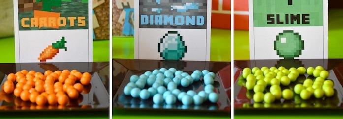 Karas Party Ideas Minecraft Birthday Free Printables Decorations Supplies Cake More