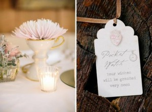Chic Alice in Wonderland Wedding with Lots of REALLY CUTE Ideas via Kara's Party Ideas | Kara'sPartyIdeas.com #MadHatter #Chic #Party #DessertTable #Ideas #Supplies (11)