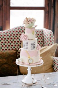 Chic Alice in Wonderland Wedding with Lots of REALLY CUTE Ideas via Kara's Party Ideas | Kara'sPartyIdeas.com #MadHatter #Chic #Party #DessertTable #Ideas #Supplies (3)