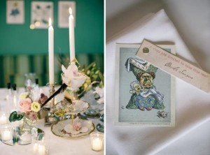 Chic Alice in Wonderland Wedding with Lots of REALLY CUTE Ideas via Kara's Party Ideas | Kara'sPartyIdeas.com #MadHatter #Chic #Party #DessertTable #Ideas #Supplies (13)