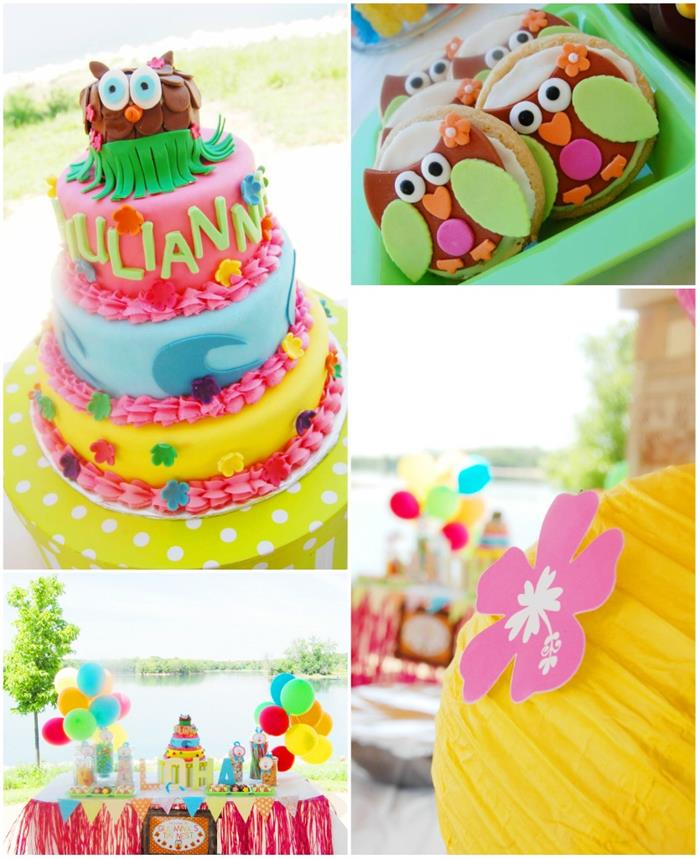 Aloha Owl 1st Birthday Party FULL Of CUTE Ideas Via Karas