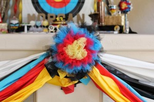 Archery Themed Birthday Party via Kara's Party Ideas Kara'sPartyIdeas.com #Tween #BowAndArrow #PartyIdeas #Supplies (32)