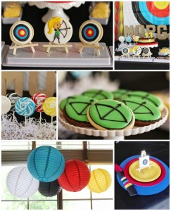 Archery Themed Birthday Party with Lots of CUTE IDEAS via Kara's Party Ideas Kara'sPartyIdeas.com #Tween #BowAndArrow #PartyIdeas #Supplies (1)