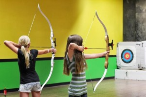 Archery Themed Birthday Party via Kara's Party Ideas Kara'sPartyIdeas.com #Tween #BowAndArrow #PartyIdeas #Supplies (5)