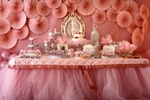 Pink Ballerina Birthday Party via Kara's Party Ideas | Kara'sPartyIdeas.com #Ballet #PartyIdeas #Supplies #Girl #Pink (27)