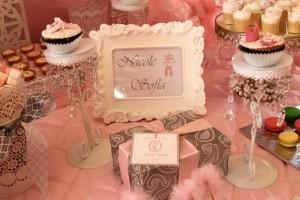 Pink Ballerina Birthday Party via Kara's Party Ideas   Kara'sPartyIdeas.com #Ballet #PartyIdeas #Supplies #Girl #Pink (26)