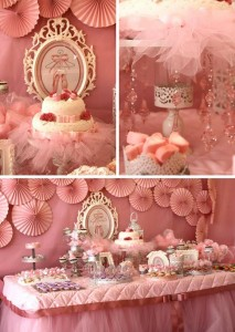 Pink Ballerina Birthday Party Full of CUTE Ideas via Kara's Party Ideas | Kara'sPartyIdeas.com #Ballet #PartyIdeas #Supplies #Girl #Pink (1)